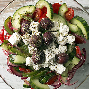 Keto Greek Village Salad