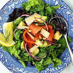 Best Smoked Salmon Salad