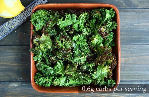 Keto Crispy Kale