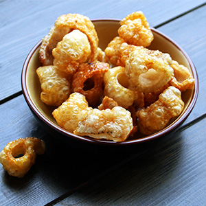 Homemade Pork Scratchings