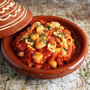Keto Moroccan Seafood