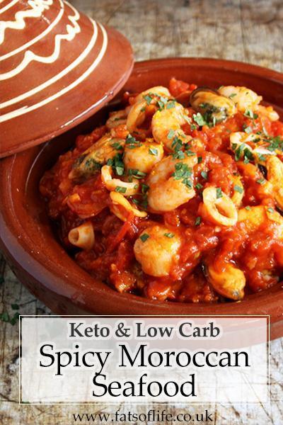 Spicy Moroccan Seafood (Keto)