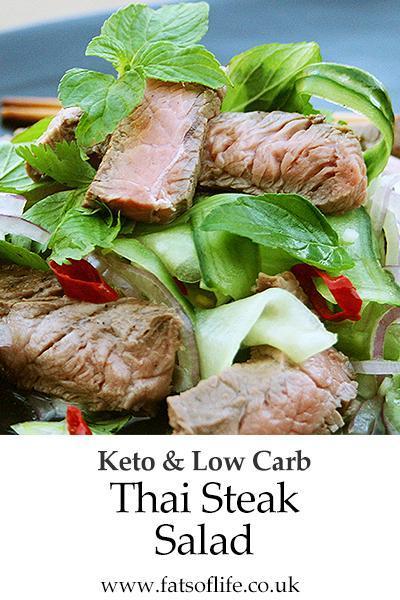 Thai Steak Salad (Keto)