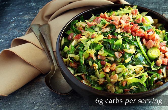 Keto Cabbage Bacon Stir Fry