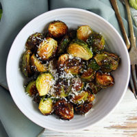 Keto Roasted Brussels Sprouts