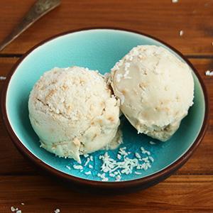 Keto Coconut ice cream