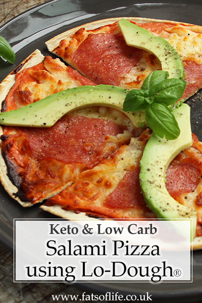 Low-carb Pizza (using Lo-Dough®)