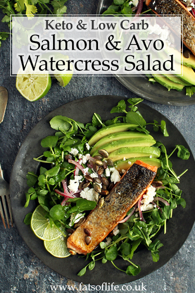 Salmon & Avocado Salad with Quick-pickled Onions