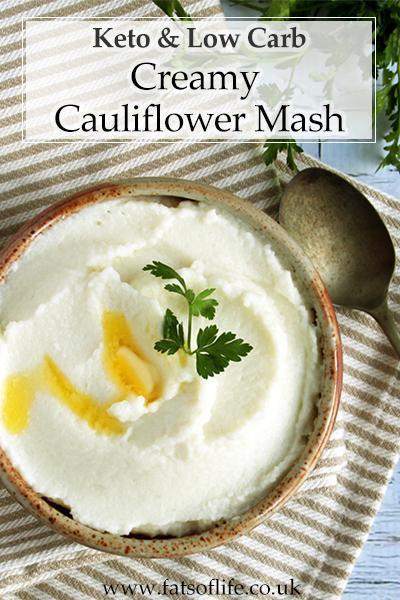 Creamy Cauliflower Mash (Keto)