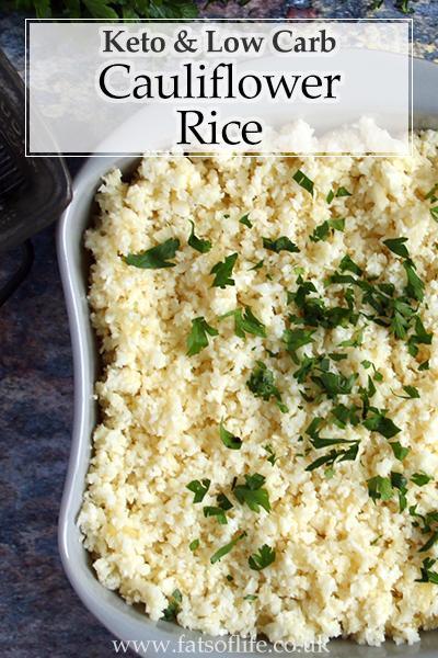Cauliflower Rice (Keto)