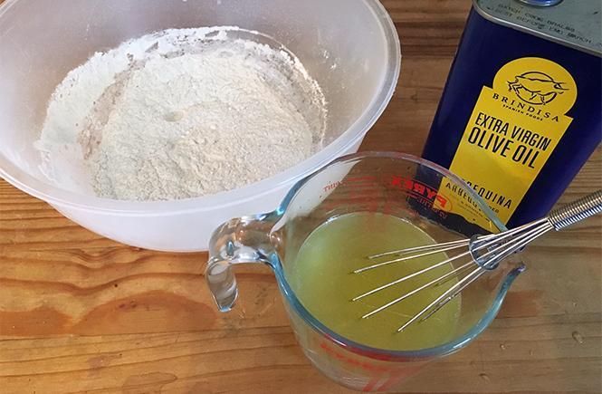 Keto Coconut Flour Wrap Prep
