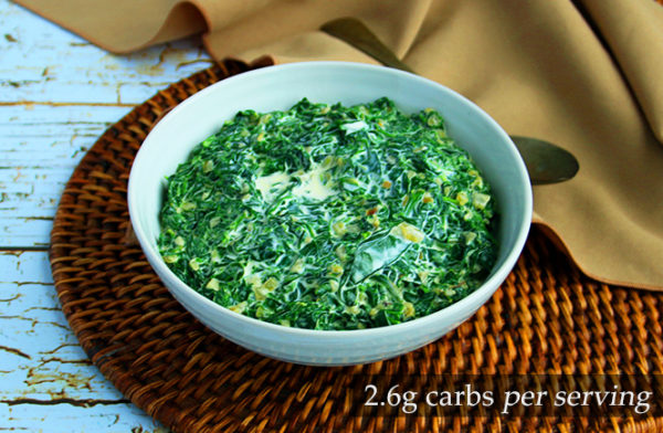 Keto Creamed Spinach