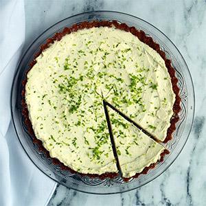 Keto Lime Cheesecake