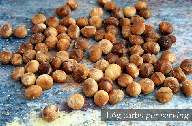 Keto Roasted Macadamia Snacks