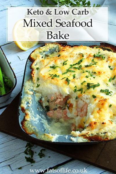 Low-carb Seafood Bake