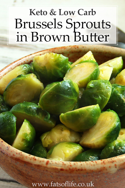 Brown-buttered Brussels Sprouts (Keto)