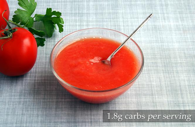 Fresh Keto Tomato Ketchup