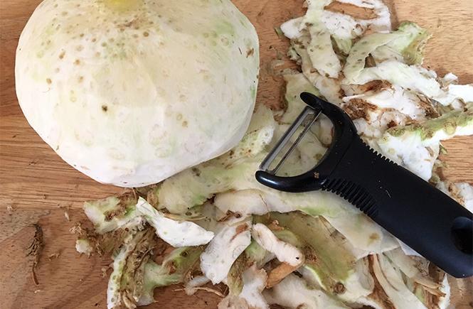 Keto Celeriac Dauphinoise Prep 1