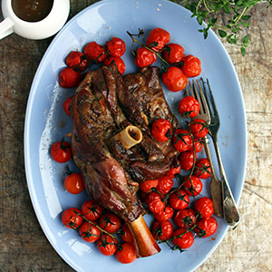 Lamb Shoulder with keto gravy