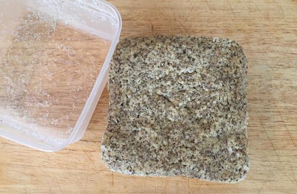 Keto Microwave Chia Bread