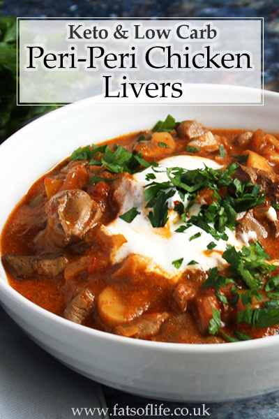 Low-carb Peri-Peri Chicken Livers
