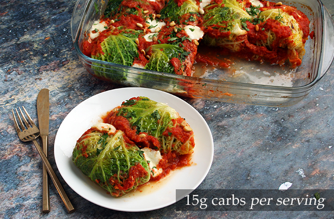 Keto Cabbage Mince Rolls