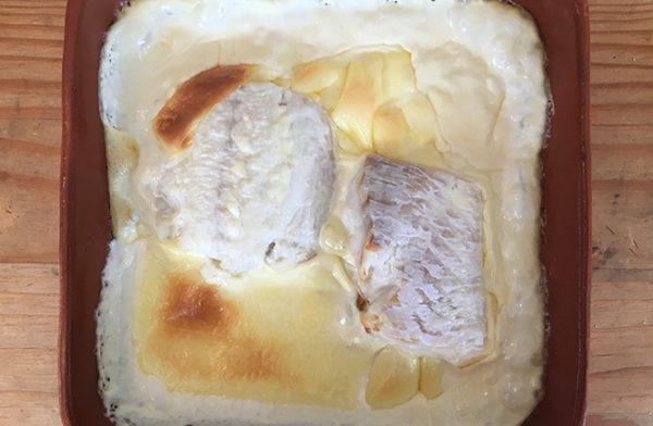 Keto Cod in Dill Cream