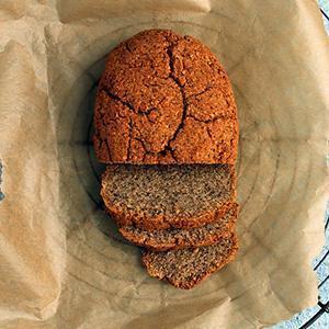 Keto Mini Soda Bread Loaf