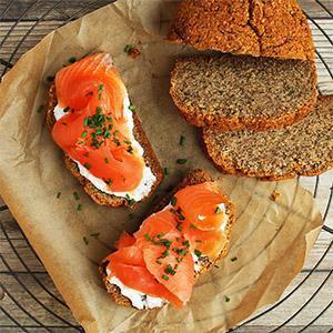 Keto Salmon Sandwiches