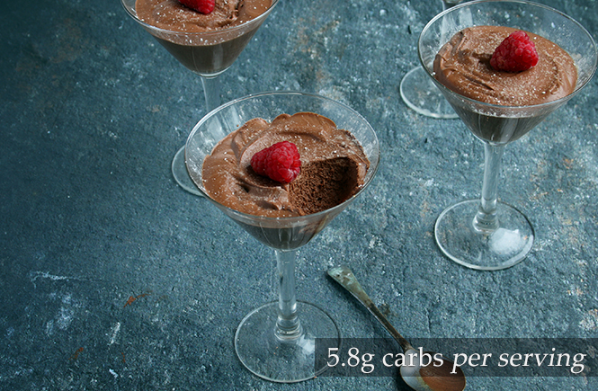 Low Carb Chocolate Mousse