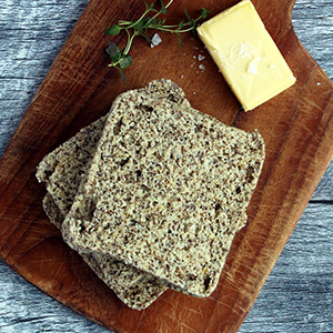Microwave Chia Bread