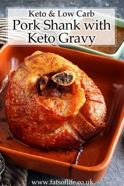 Pork Shank with Mustard Keto Gravy (Keto)