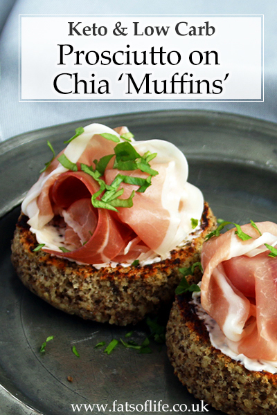 Low-carb Prosciutto \'Muffins\'