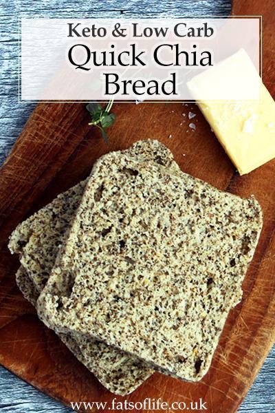 Quick Chia Bread (Keto)
