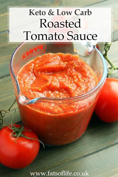 Roasted Tomato Sauce (Keto)