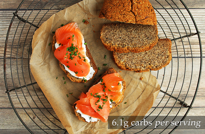 Smoked Salmon Keto Sandwiches