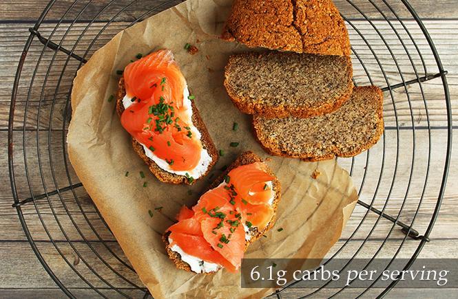 Smoked Salmon Keto Sandwiches