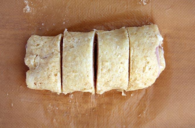 Fathead Ham and Gruyere Roll