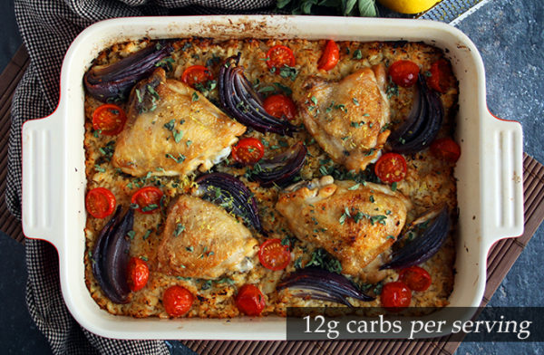 Low carb Chicken Oregano Bake