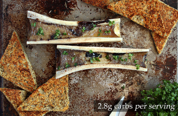 Roasted Bone Marrow on Keto Toast