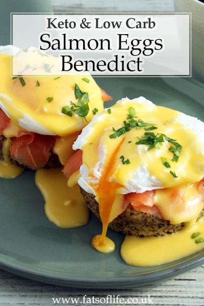Keto Salmon Eggs Benedict