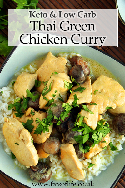 Low carb Thai Green Chicken Curry