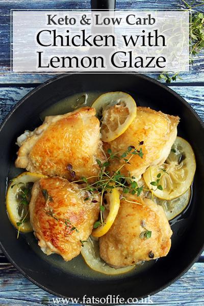 Lemon & Thyme Chicken with Glaze (Keto)