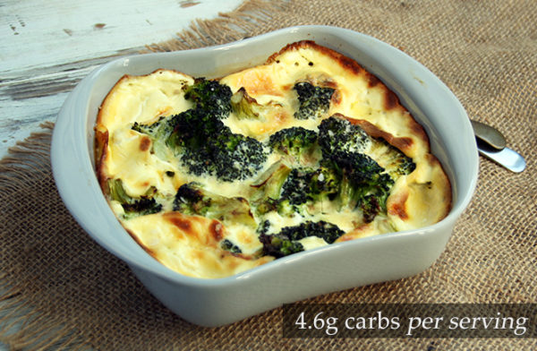 Keto Cream-baked Broccoli