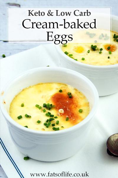 Cream-baked Eggs (Keto)
