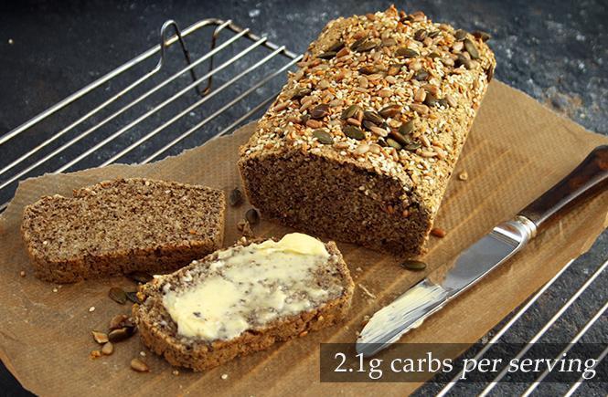 Keto Seed Loaf