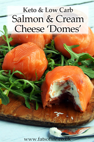 Salmon & Cream Cheese Domes (Keto)