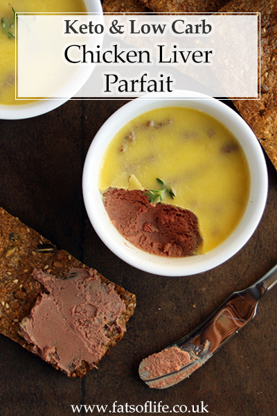 Chicken Liver Parfait (Keto)