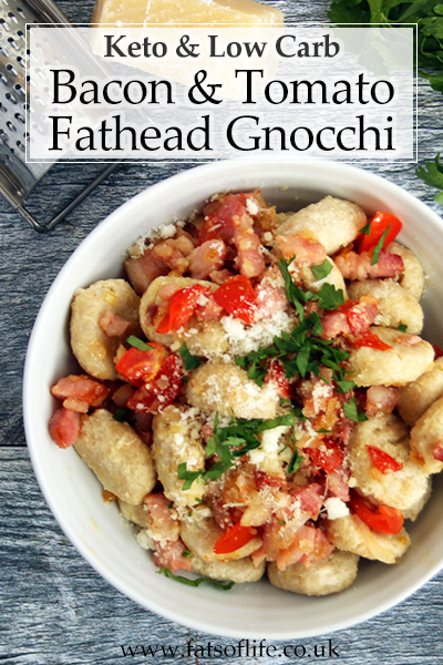 Bacon & Tomato Keto Gnocchi