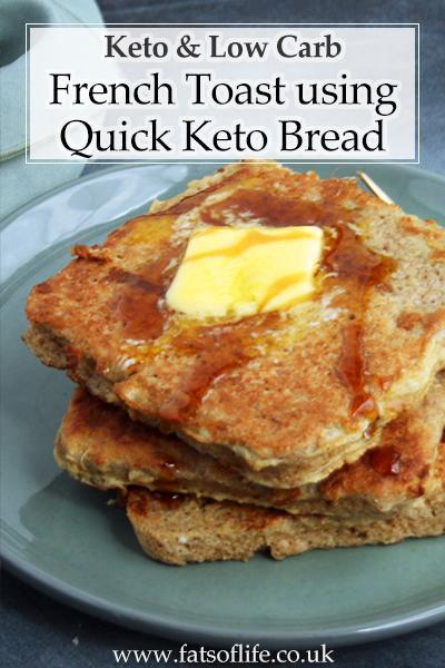 Cinnamon French Toast (Keto)